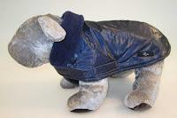Kabátik Eugen - modrý s podšívkou modrou