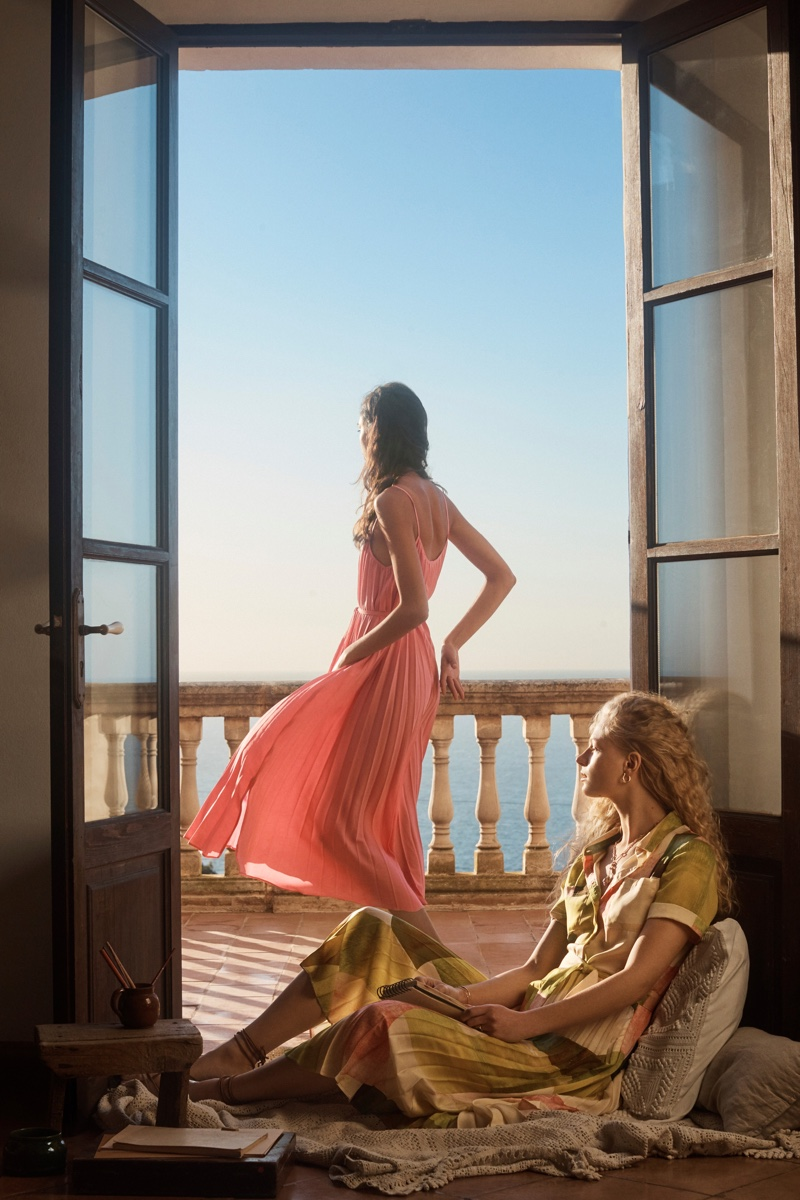 Mango 'A House With a View' Spring/Summer 2019 Lookbook