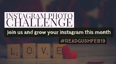 Read & Gush February 2019 Bookstagram Challenge