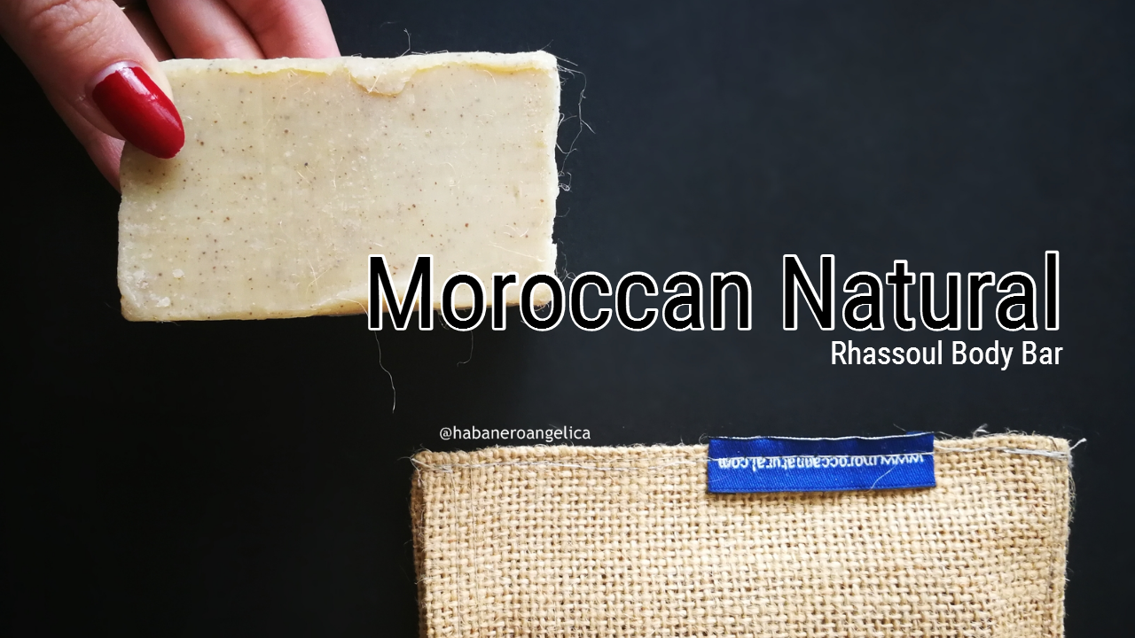 Moroccan Natural Rhassoul Body Bar sapone solido