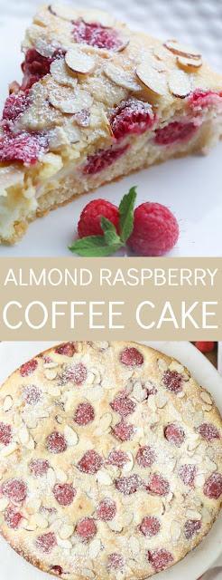 Almond Raspberry Coffee Cake Recipes