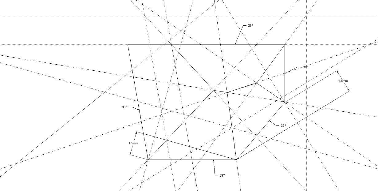 Gallery Geometric Lines Drawing