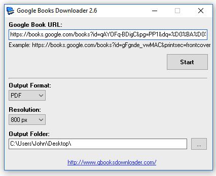 Download Google Books Downloader 2 8 Offline Installer - Windows 10