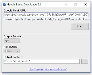 Google Books Downloader 2.6 for Windows, Android and Mac OS X