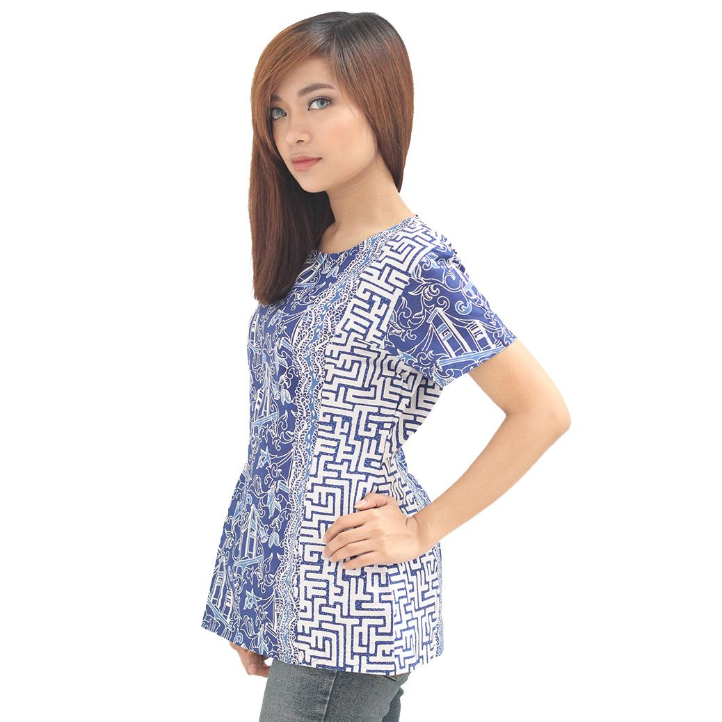 Contoh Baju Batik Guru: Contoh Baju Batik Wanita Model Yang Kekinian