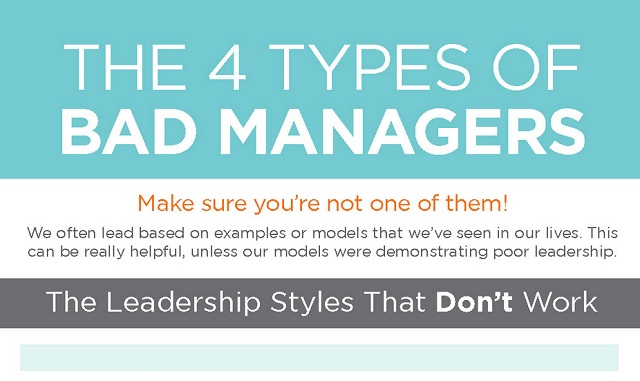 Image: The 4 Types of Bad Managers