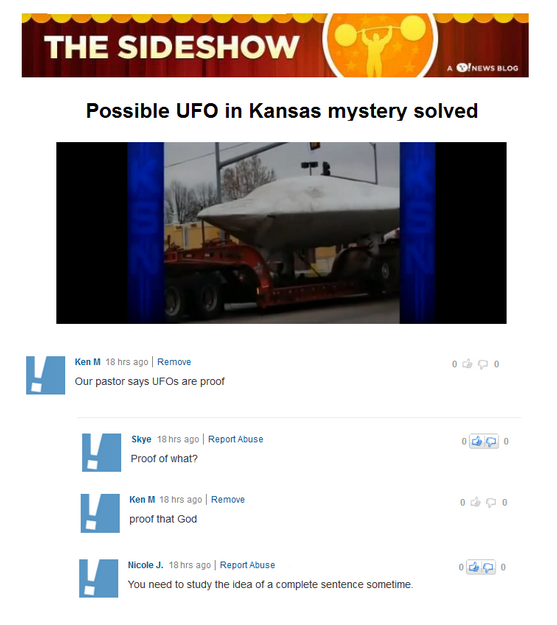 Ken M. may be the world's greatest troll
