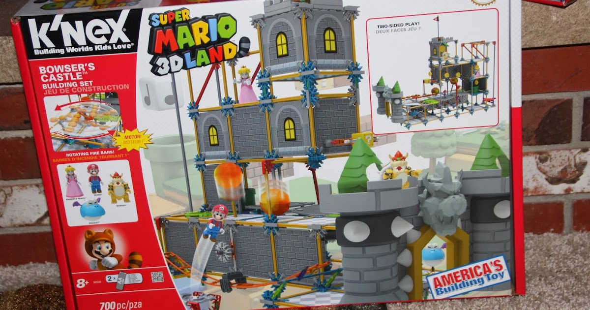 Chiil mama review holidaze day 4 new super mario 3d land bowsers castle building set review giveaway
