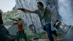 Screenshot uit Uncharted