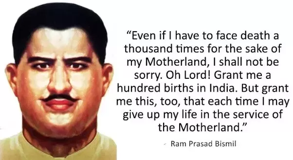 short essay on ram prasad bismil