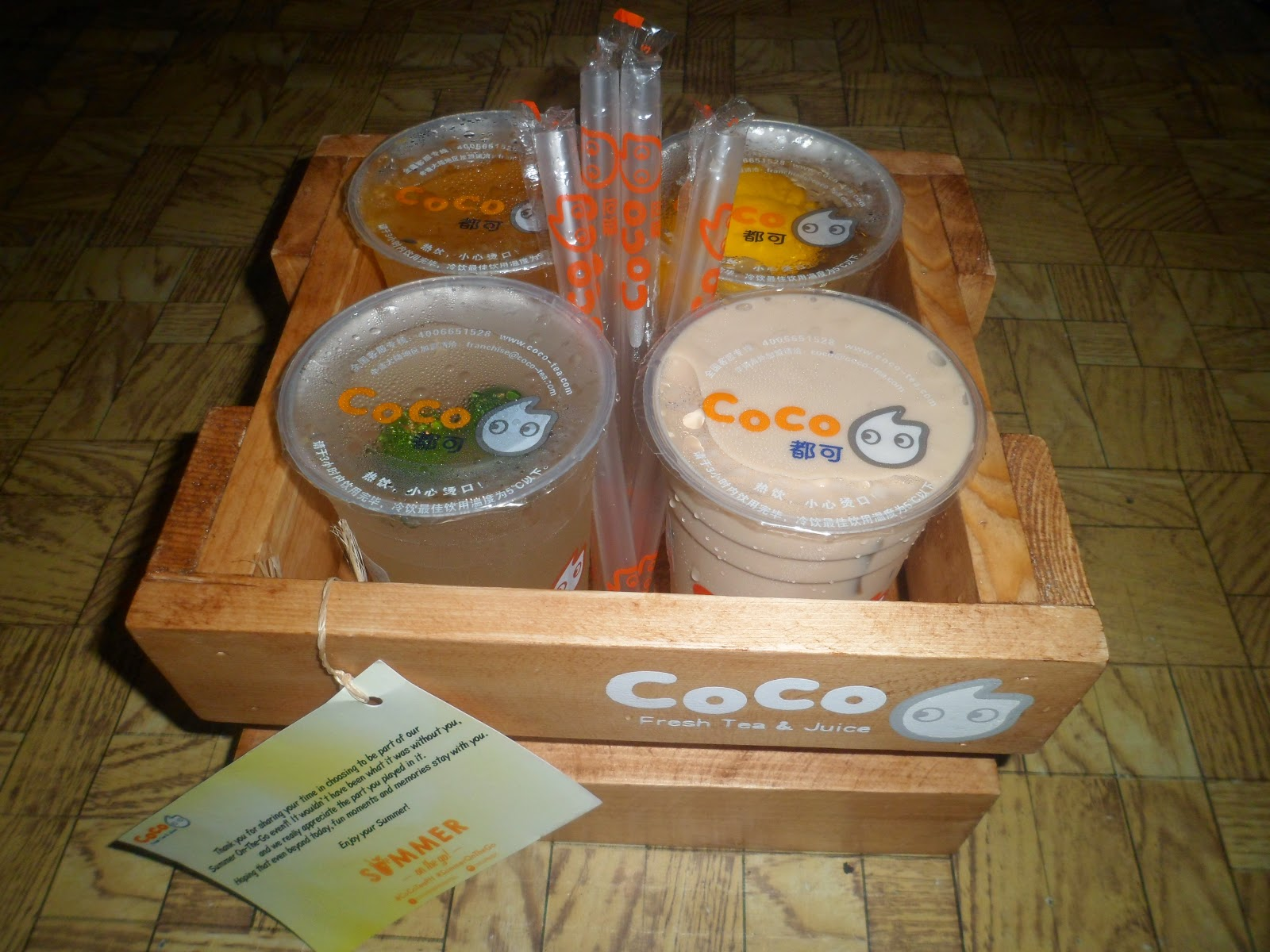 CoCo Fresh Tea And Juices: Your Summer On The Go Partner