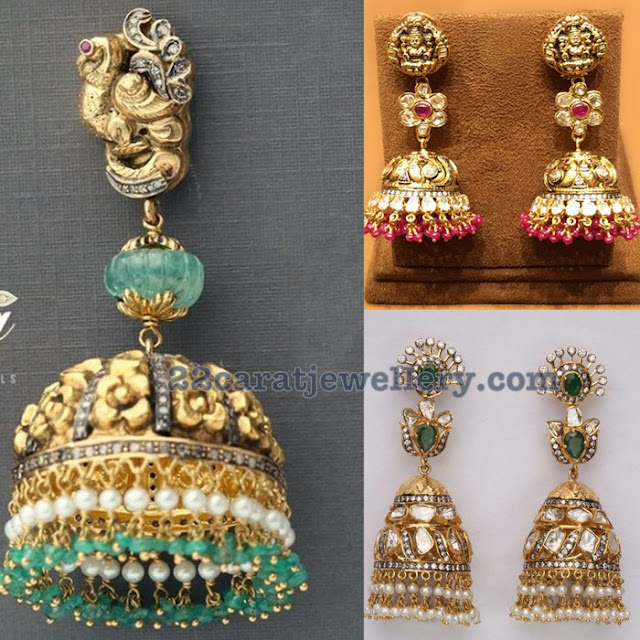 Trendy Jhumkas Tiraa by Tibarumal Jewels