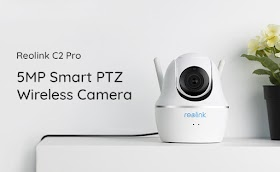 Reolink Launches C2 Pro 5MP Wireless PTZ Smart Home Camera, Marking a Milestone in Indoor Security Field