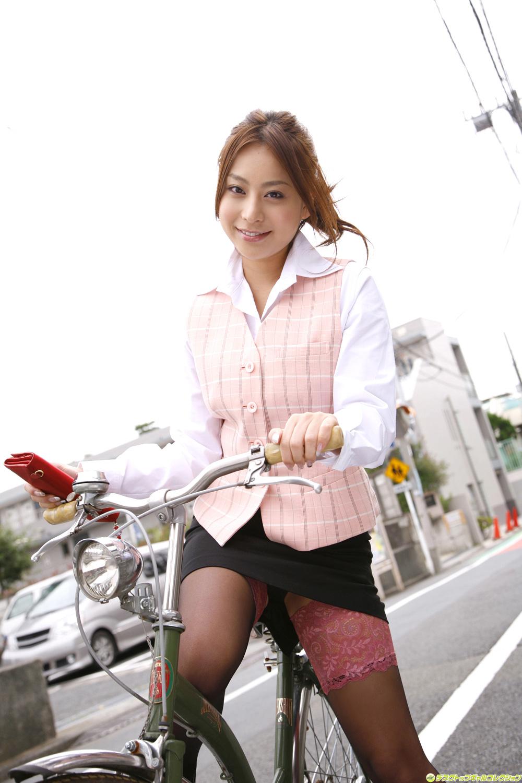 Mika Inagaki Japanese Sexy Idol Sexy Office Dress Fashion -9151