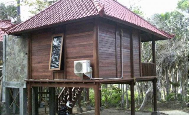 Desain Rumah Kayu Modern