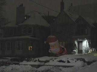 Huggy Santa.