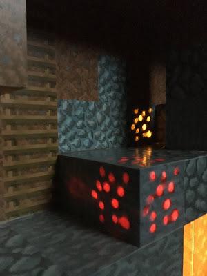 minecraft diy wooden blocks electronics LED lights 555