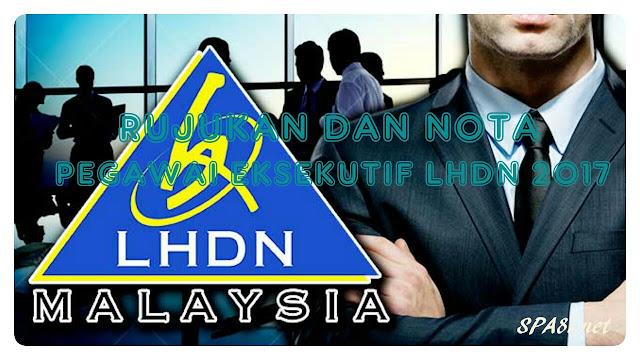 Download Rujukan dan Nota Exam Pegawai Eksekutif LHDN 2017