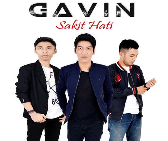 Lirik Lagu Gavin - Sakit Hati