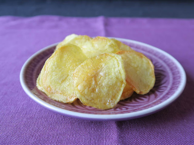 Als Deko noch besser als Petersilie: Kartoffelchips | pastasciutta.de