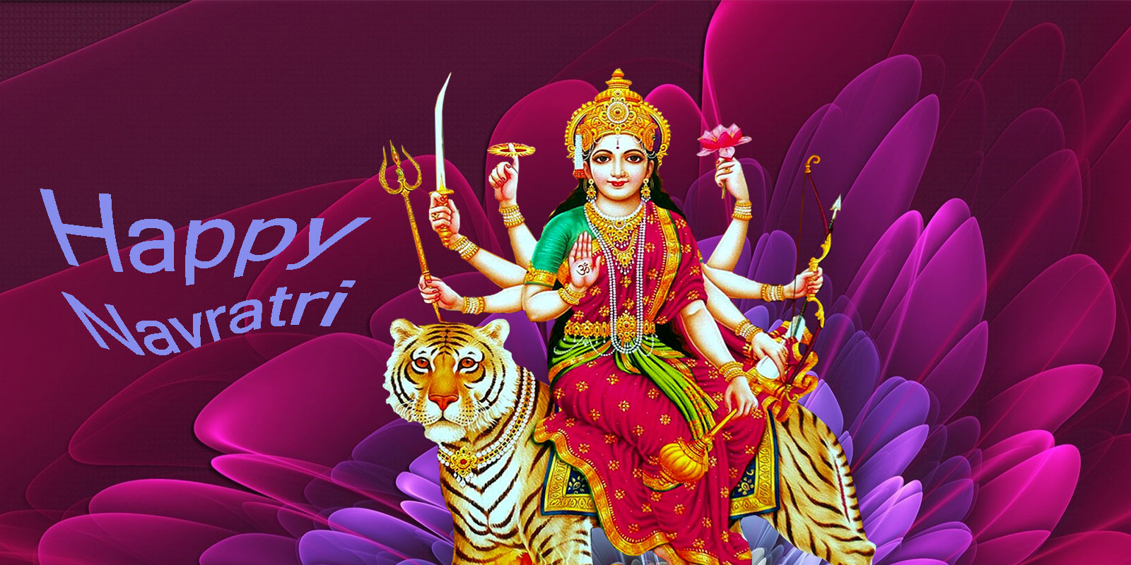Hindu God Goddess Ganesh Durga Mata Wallpaper