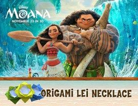 Moana necklace craft