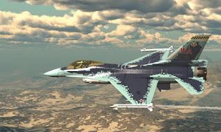 F-16 Dengan Livery Su-57