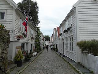 stavanger casas blancas