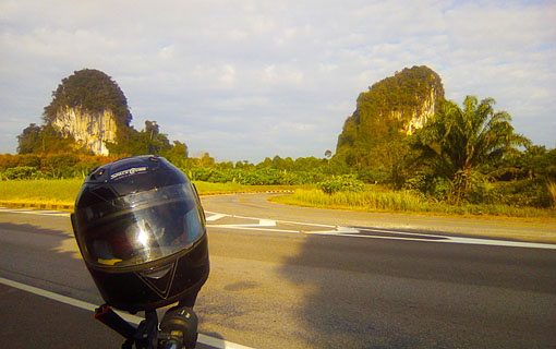 Motor Bike Scooter travel in Thailand