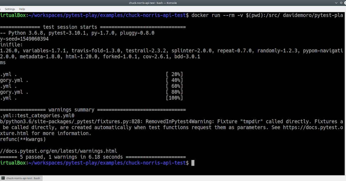 Davide Moro: API/REST testing like Chuck Norris with pytest play