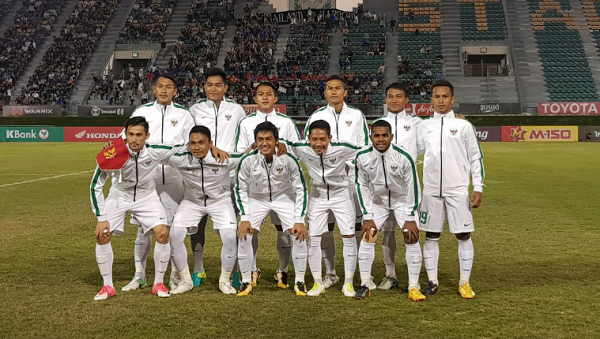"""Main di """"Sawah"""", Indonesia ditahan Imbang Thailand dan Gagal ke Piala Asia"""