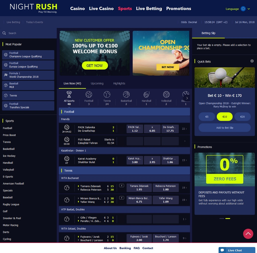 NightRush Sportsbook