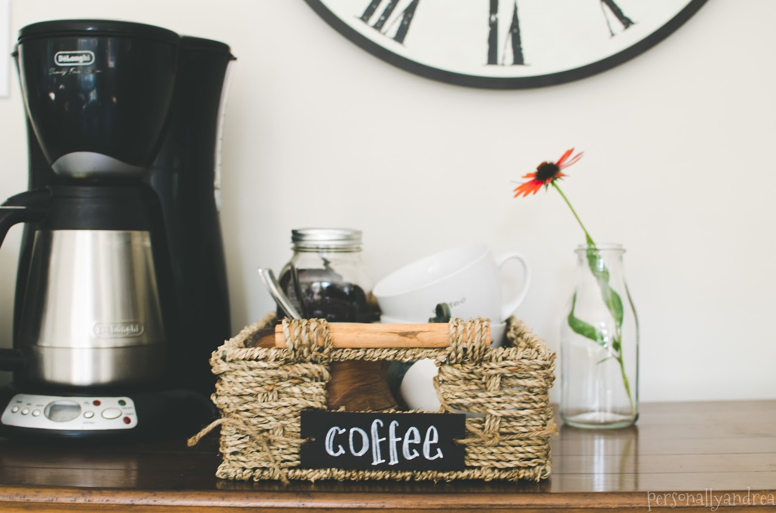 Coffee Station | personallyandrea.com
