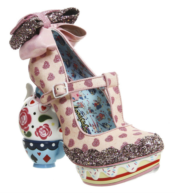 Irregular Choice Disney Alice In Wonderland my cup of tea pink