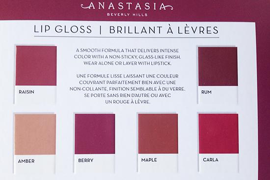 Anastasia Beverly Hills Fall Mini Lip Gloss Set