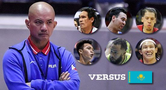 LIST: Gilas Pilipinas Final-12 versus Kazakhstan 5th Window 2019 FIBA Qualifiers Asia