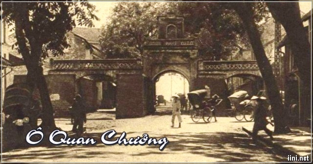 O Quan Chuong - Hanoi