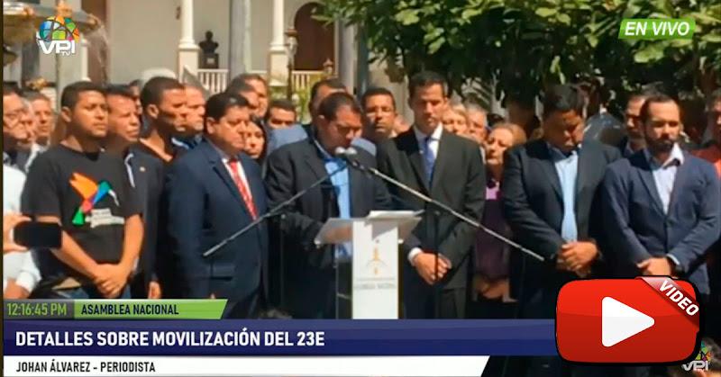 Guaidó : Desde estos 10 puntos sale la marcha de 23 de Enero - NO FALTES!