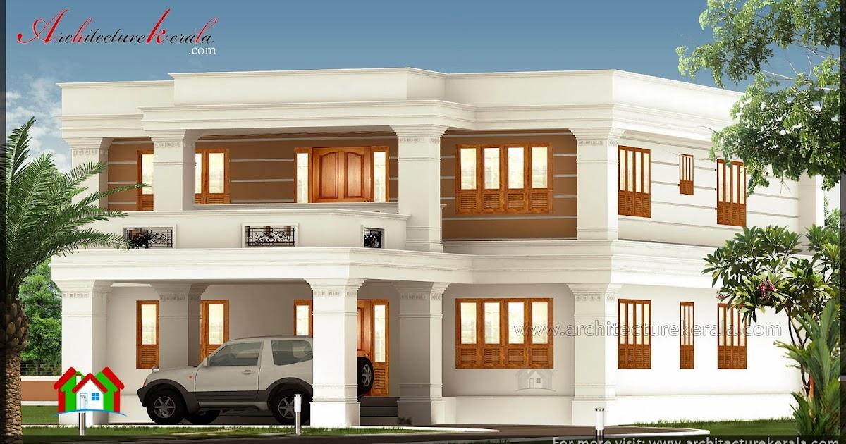 2800 Square Feet Big House Elevation Architecture Kerala