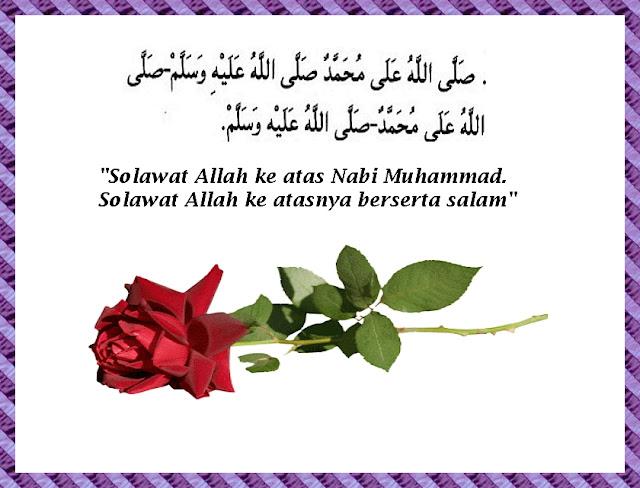 Image result for salawat ke atas nabi