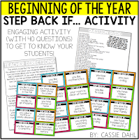 Click here to download the Step Back If... getting-to-know-you beginning of the year activity