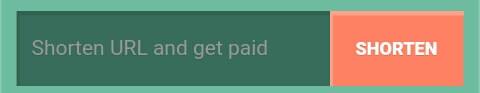 "Cara yang pertama yaitu memendekkan link dan menyebarkannya kepada orang lain supaya di lewati. Anda bisa memendekkan link pada kolom yang bertuliskan ""Shorten URL and get paid""."