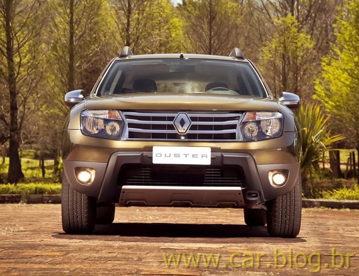 Renault Duster 2012 4x4 - frente