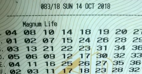 Malaysia Magnum Life Lottery Winner!