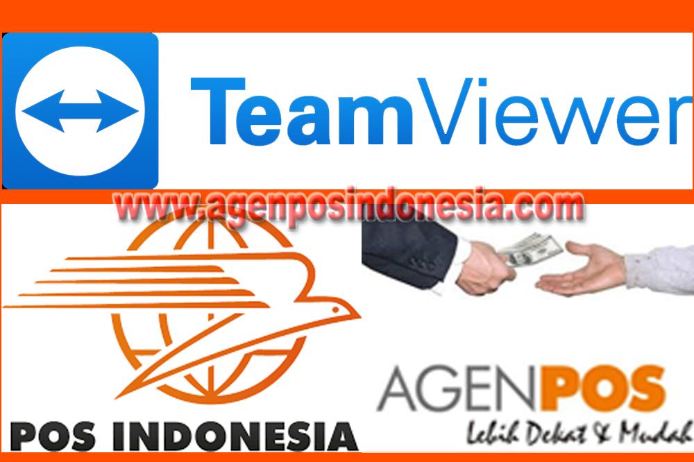 Cara Install Team Viewer untuk Remote Aplikasi Agenpos | www