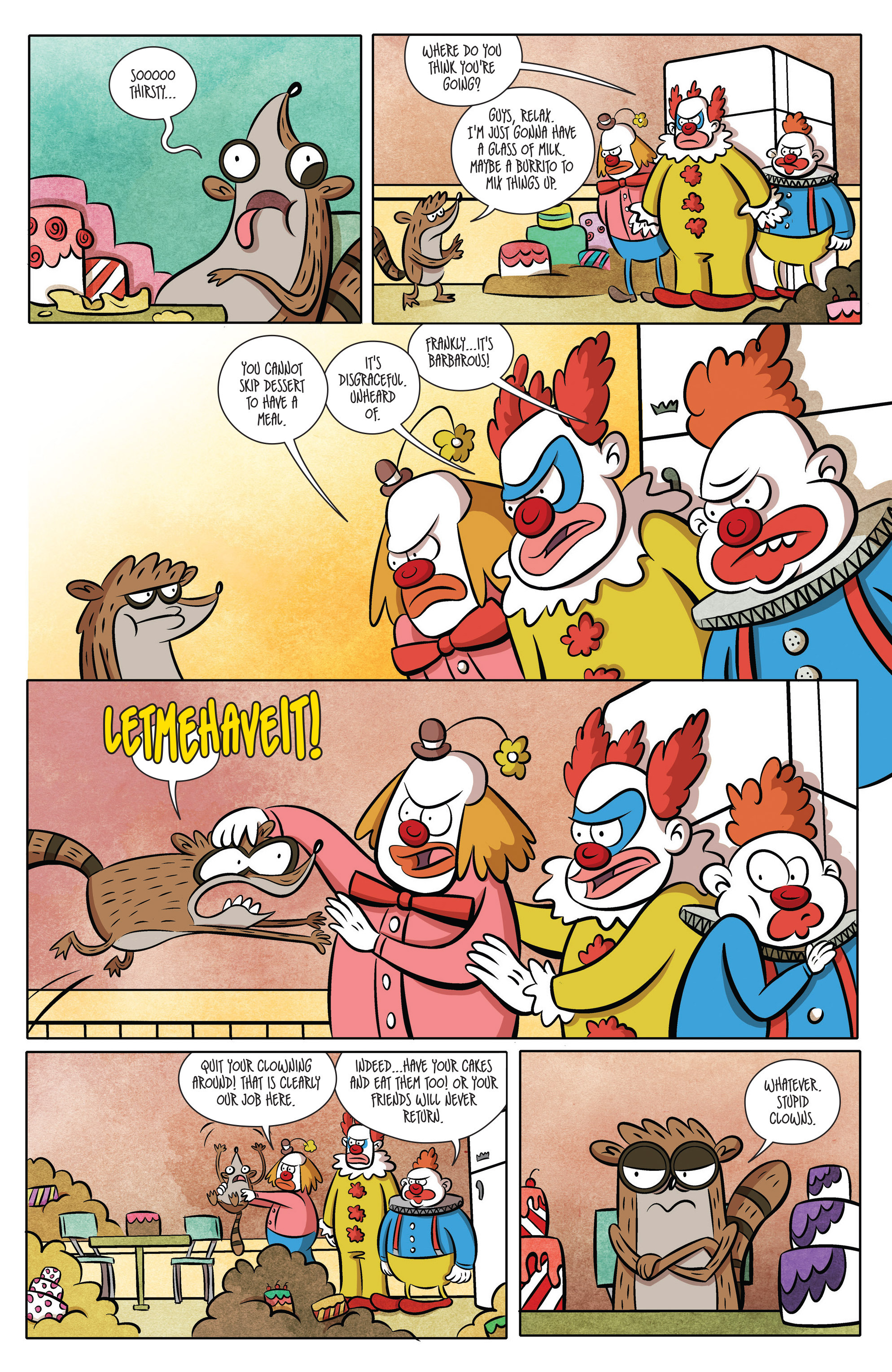 Read online Regular Show comic -  Issue # _2017 Special 1 - 9