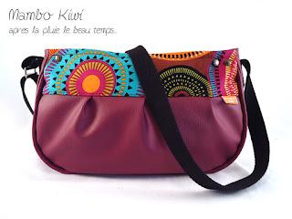 sac original et coloré fait main mandalas