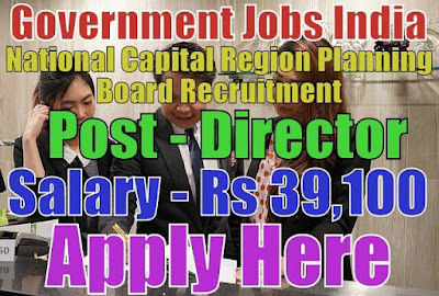 National Capital Region Planning Board NCRPB Recruitment 2017