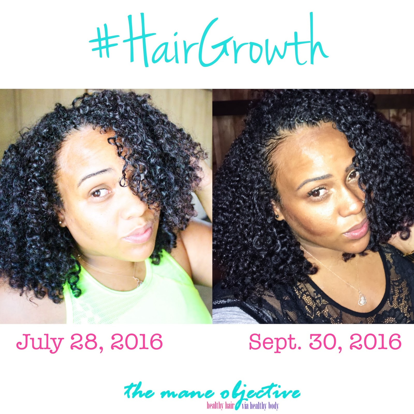 Hair Growth Challenge For Natural Hair