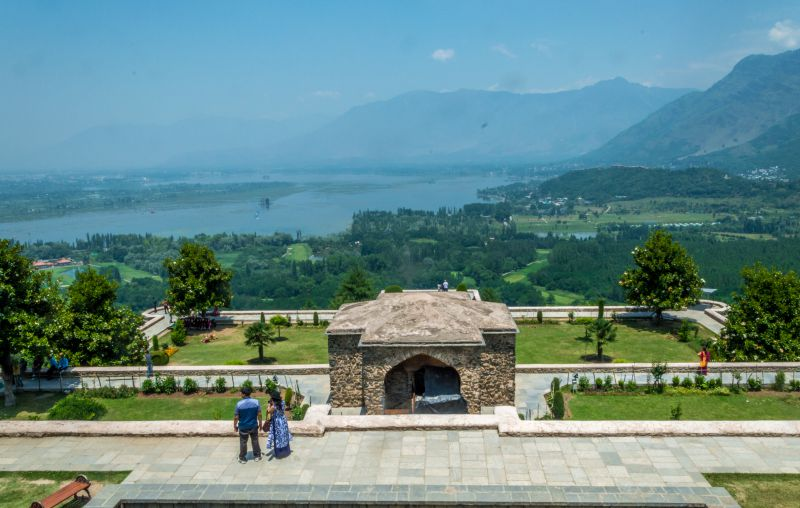 Another view from Pari Mahal
